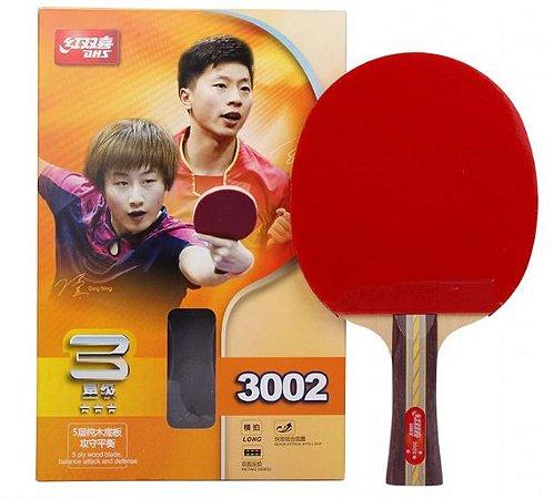 Raquete Clássica Dhs 3002 Tênis de mesa Original