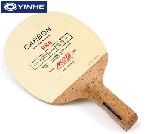 Raquete Caneta Chinesa Yinhe Fibra de Carbono