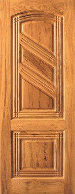 Porta de Madeira Maciça em Angelim Pedra - ref142