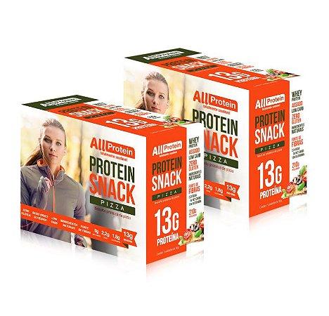 2 Caixas de Protein Snack Pizza All Protein 14 unidades de 30g - 420g