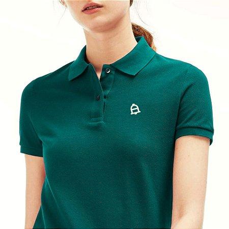 Camisa polo feminina Aleluya