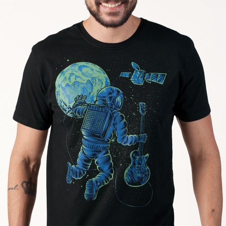 Camiseta masc Astronauta