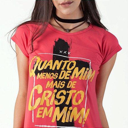 Camiseta Fem Menos de mim