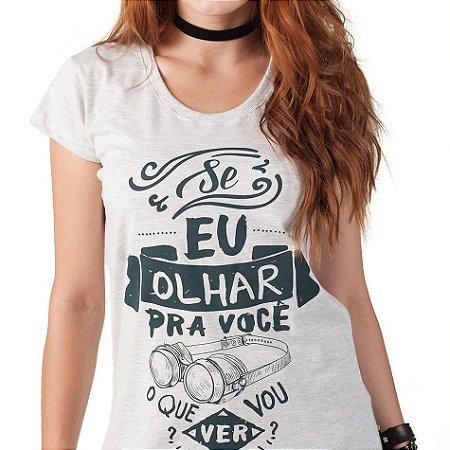 Camiseta Fem. Olhar - Jean Carllos