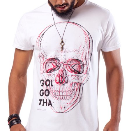 Camiseta Masc Golgotha
