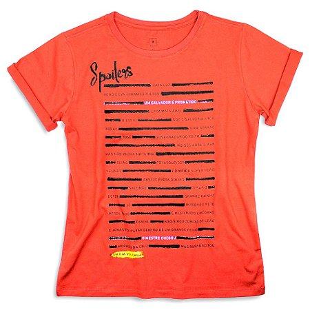 Camiseta Fem. Spoilers
