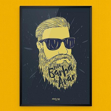 Quadro Barba de Arão - A3