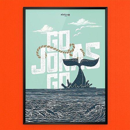 Quadro A3 - Go Jonas