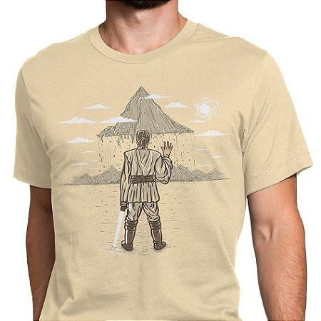 Camiseta masc Star Wars - A Força da Fé