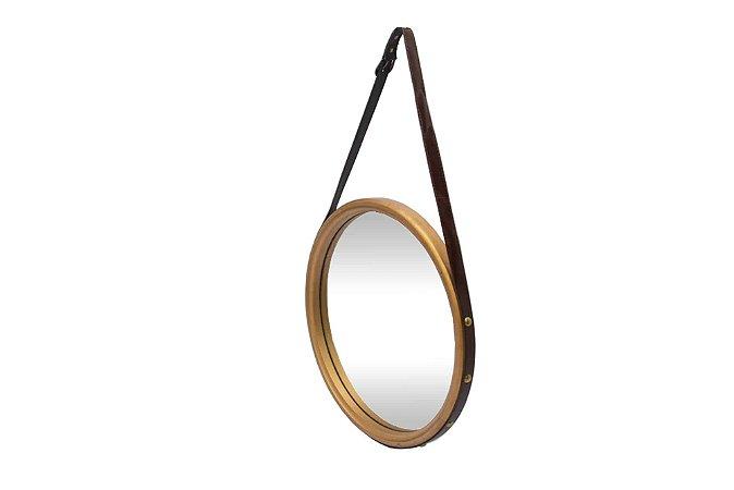 Espelho Leather Pequeno