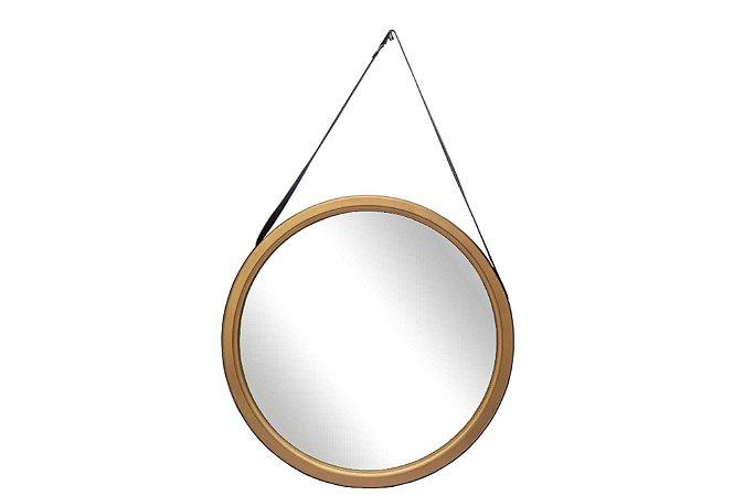Espelho Leather Grande