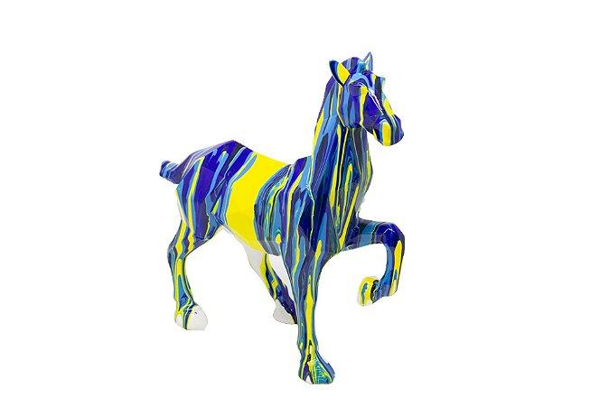 Escultura Decorativa  Cavalo Color