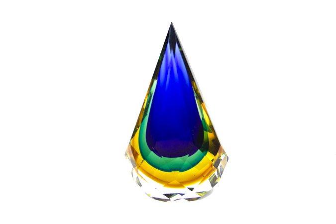 Cristal Gota Tricolor