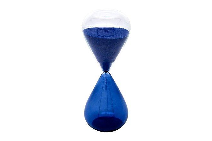 Ampulheta Azul Decorativa