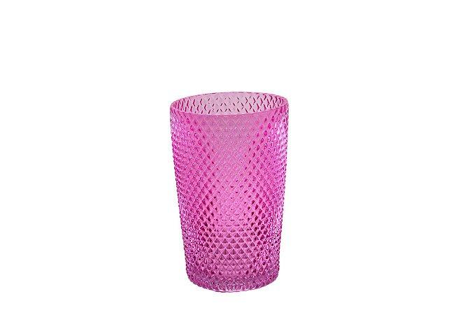 Vaso Decorativo Rosa Bico de Jaca Pequeno