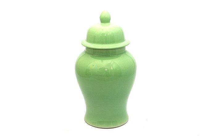 Pote Decorativo Verde Pastel Grande