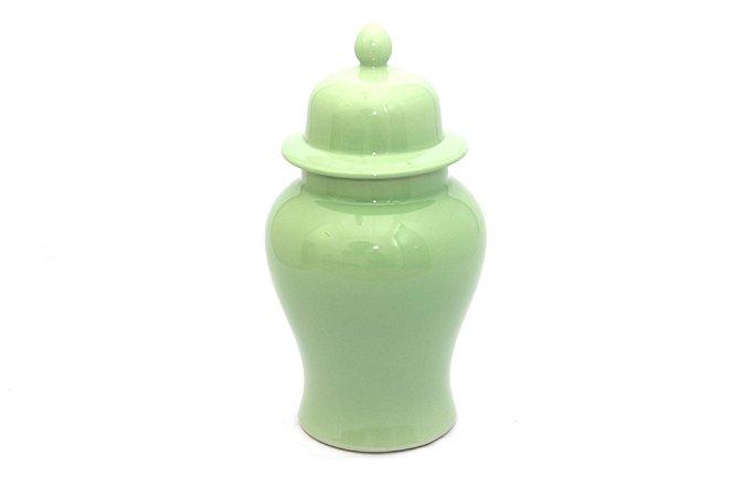 Pote Decorativo Verde Pastel Pequeno