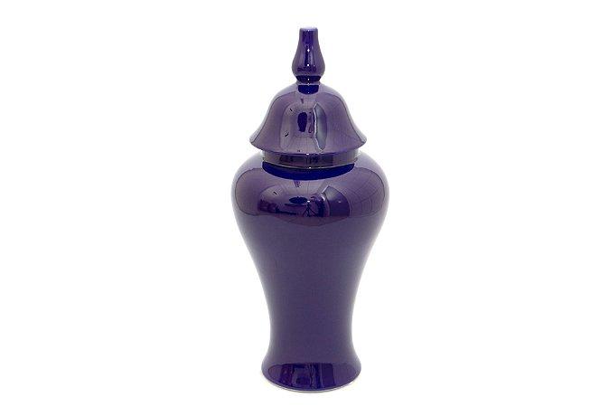 Pote Decorativo Azul Aladim Pequeno