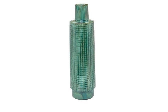 Vaso Decorativo Verde Esmeralda Médio