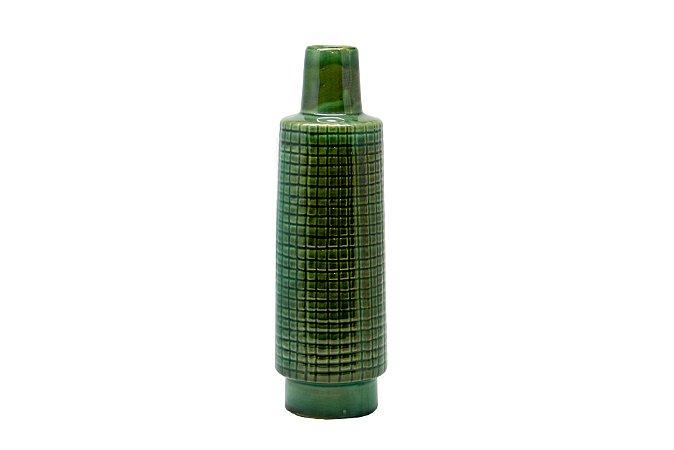 Vaso Decorativo Verde Esmeralda Pequeno