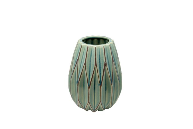 Vaso Decorativo Verde Grass Pequeno