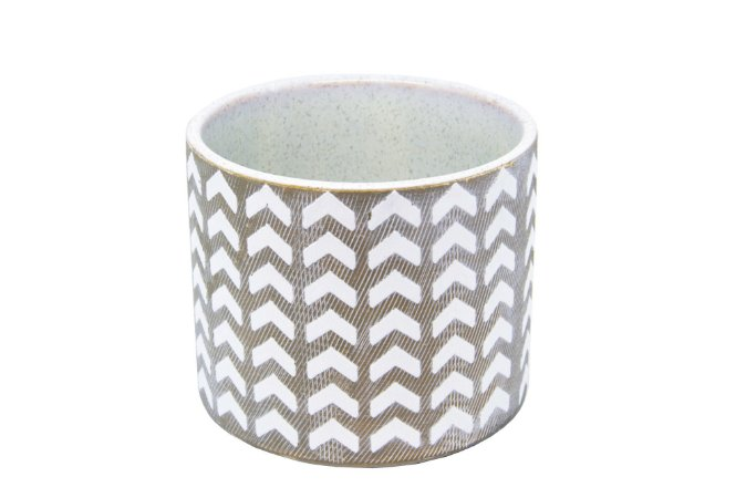 Cachepô Vaso Decorativo Tribal