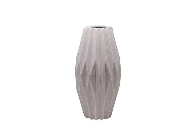 Vaso Decorativo Cinza Pequeno