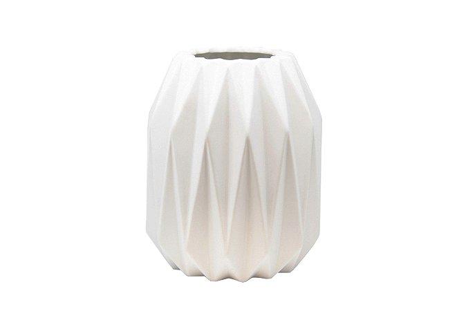 Vaso Decorativo Branco Balões