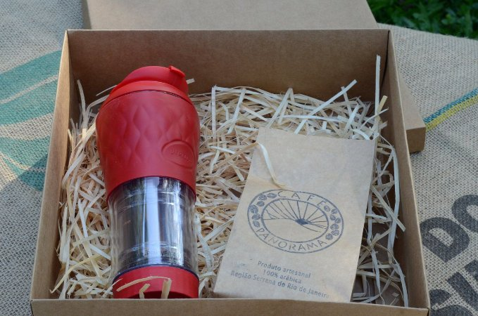 Kit Presente: Pressca + 250 g de café