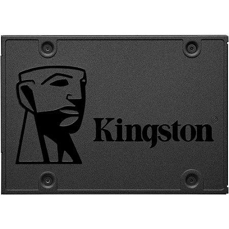 "SSD Kingston 2.5"" - 120GB A400 - 500MBs para leituras e 320MBs para gravações"