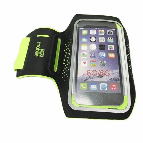 """Braçadeira Cross Armband Easy Mobile Verde Para Smartphone até 4.5"""""""