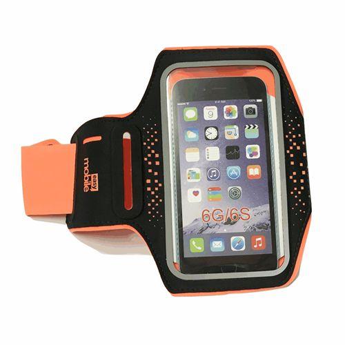 """Braçadeira Cross Armband Easy Mobile Laranja Para Smartphone até 4.5"""""""