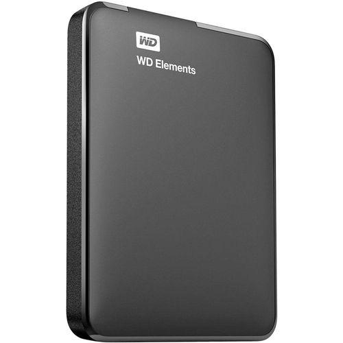 HD Externo Portátil WD Elements 1 TB USB 3.0 - WDBUZG0010BBK