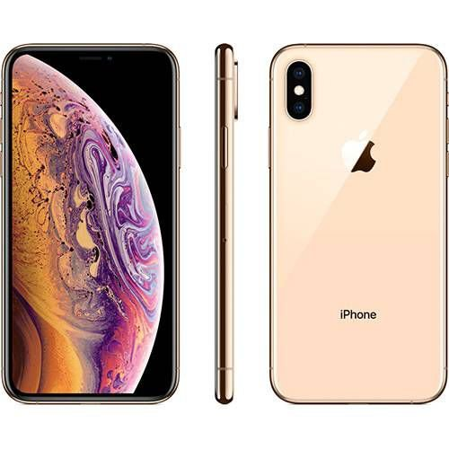 iPhone Xs Apple Dourado 64GB Desbloqueado - MT9G2LZ/A