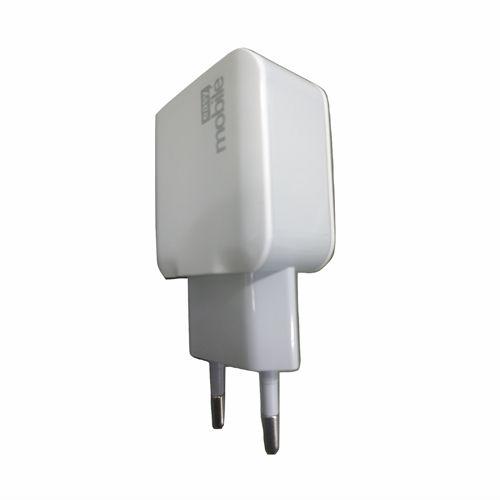 Carregador de Parede USB Easy Mobile Power 2.4 Turbo 2 Portas USB 2.4A Cada