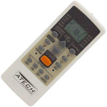 Controle Remoto Ar Condicionado Fujitsu AR-JE6