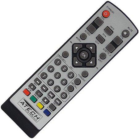 Controle Remoto Conversor Digital Ecogold EG8400HD
