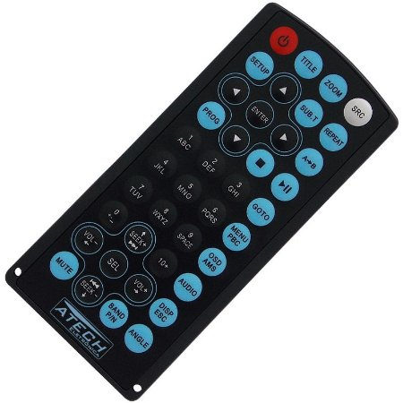 Controle Remoto DVD Player Automotivo H-Buster HBD-7680AV / HBD-7688AV / HBD-7700 / HBD-9150AV / HBD-9200AV / HBD-9260AV / HBD-9300AV
