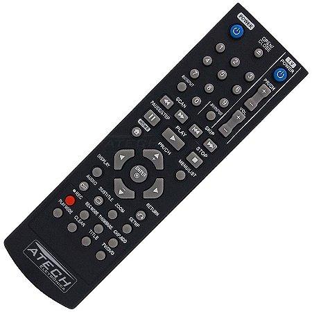 Controle Remoto Gravador de DVD LG AKB31621901 / DR-175 / DR-265 / DR-275 / DR-385 / DR-7621B