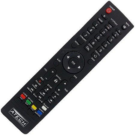Controle Remoto Receptor Audisat A1