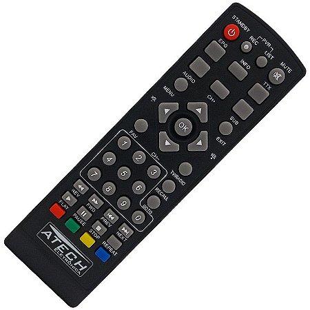 Controle Remoto Receptor Tele System TS-F21 HD / TS-2300 HD