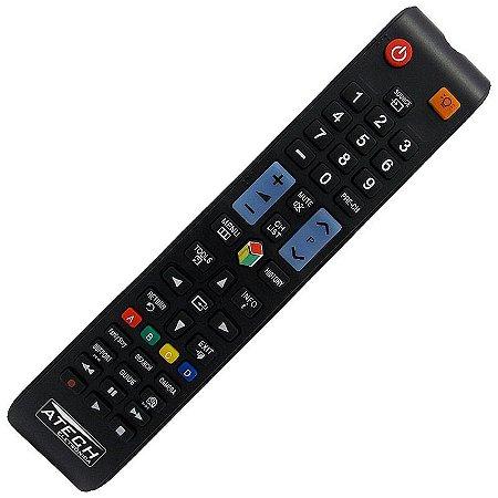 Controle Remoto TV LCD / LED / Plasma Samsung PL51E8000GG / PL64E8000GG / Serie 8000 / ETC