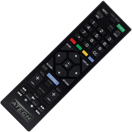 Controle Remoto TV LCD / LED Sony Bravia RM-YD093 / KDL-24R405A / KDL-24R407A / KDL-24R425A / KDL-32R405A / KDL-32R407A / KDL-32R424A / KDL-32R425A / KDL-32R425B / KDL-32R427B / KDL-32R434A / KDL-32R435A / KDL-39R475A / KDL-40R455A / KDL-40R457A / ETC