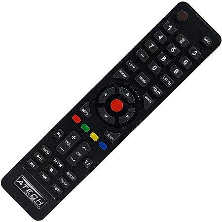 Controle Remoto TV LED H-Buster HBTV-32D06HD