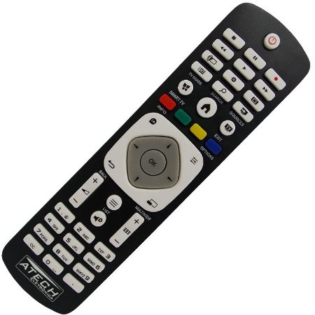 Controle Remoto TV LED Philips 42PFG5909 / 42PFG6809 / 47PFG5909 / 47PFG6809 / 55PFG6809