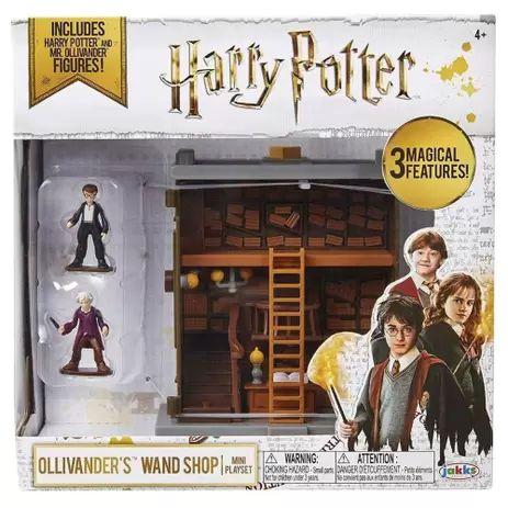 Mini Playset Harry Potter - Loja de Varinhas de Ollivander