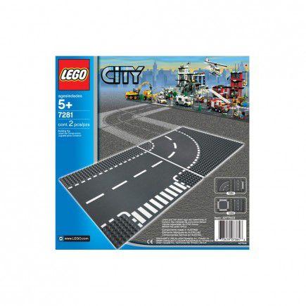 Lego City - 7281 - Entroncamento e Curvas