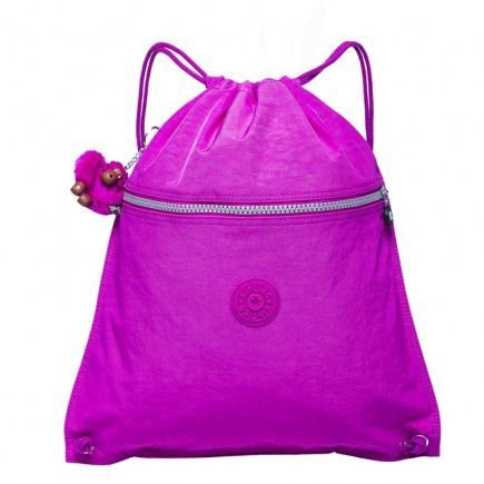 Mochila de Passeio Supertaboo - Pink Orchid - Kipling