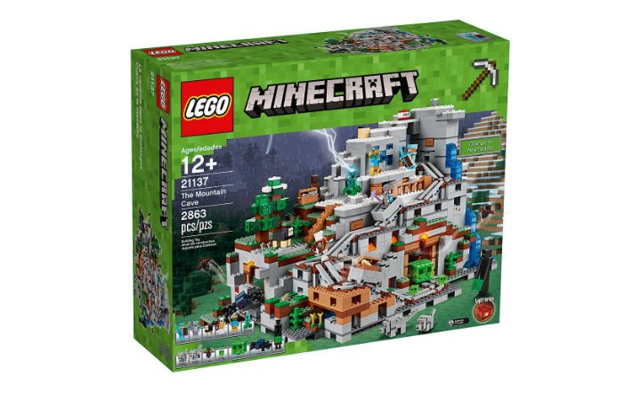 LEGO MINECRAFT - THE MOUNTAIN CAVE - 21137