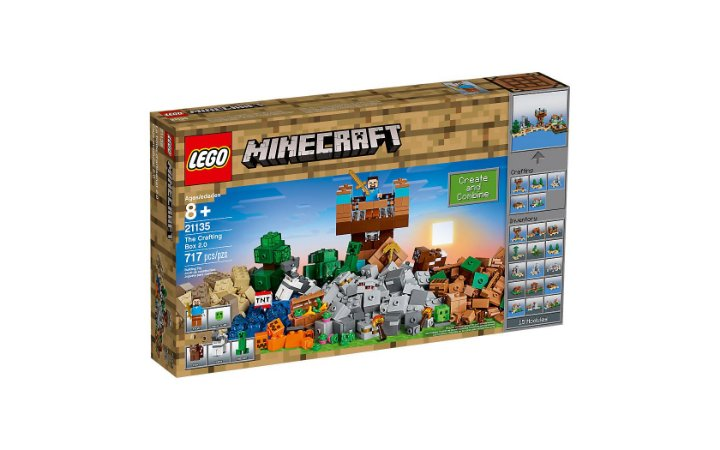 LEGO MINECRAFT - THE CRAFTING BOX 2.0 - 21135
